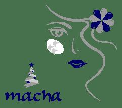 Macha bleu nuit