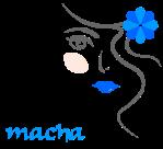 Macha bleu turquoise